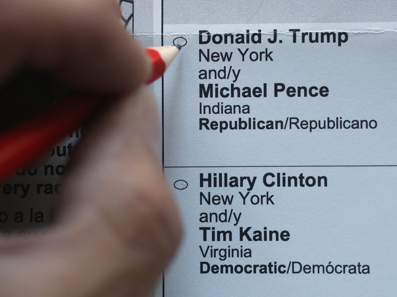 The Art Of The Vote: Who Designs The Ballots We Cast?