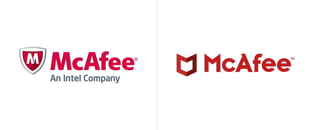 Inspiration: McAfee Brand Update