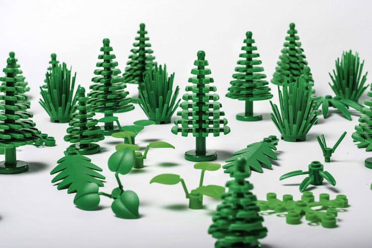 LEGO set to Launch Collection Made from sugarcane