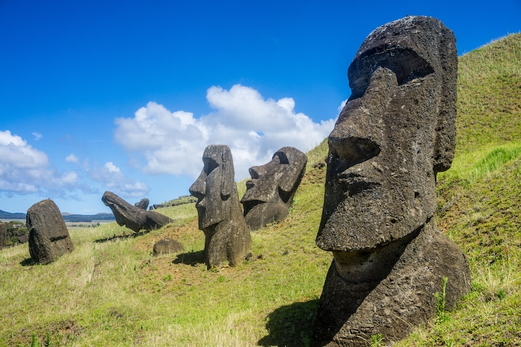 The World-Famous Easter Island Heads Have Bodies Buried Underground