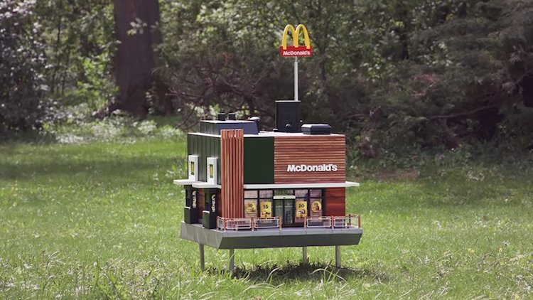 McDonald's Opens a Miniature Restaurant Just for Bees
