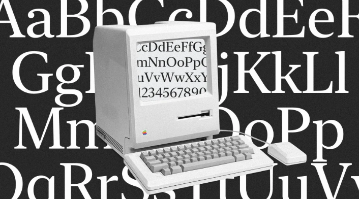 Apple just released a long-lost font from the original Mac–for free
