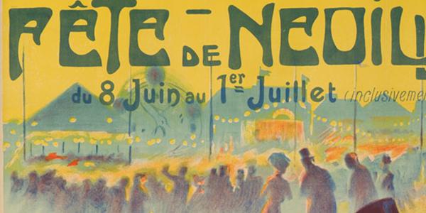 Vintage European Advertising Poster Exhibit